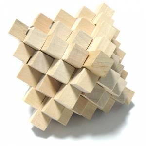 De madera - Puzzle madera piña
