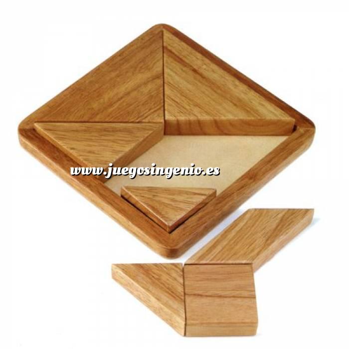 Imagen De madera Tangram clásico de madera (Últimas Unidades)