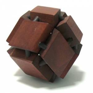 De madera - Esfera Rombos