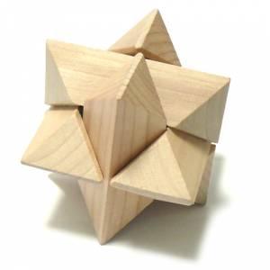 De madera - Puzzle estrella